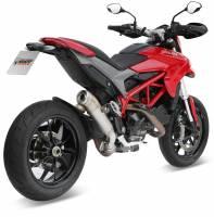 Mivv Exhaust - MIVV Ghibli Titanium Slip-On Racing Exhaust: Ducati Hypermotard 821/SP