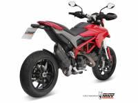 Mivv Exhaust - MIVV Sunno Slip-On Exhaust: Ducati Hypermotard 821/SP