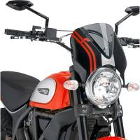 Puig - Puig Retrovision Windshield: Ducati Scrambler