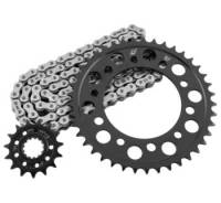 Parts - Drive Train - RK Chain - RK 520 Steel Quick Acceleration Chain and Sprocket Kit: Ducati Scrambler
