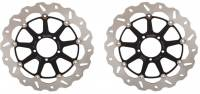 Galfer - Galfer Rotor Disk Kit: Ducati Monster 1200-821-796-797-1100EVO, Hypermotard, Diavel, Multistrada 1200-1260, Supersport 939