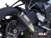 SC Project - SC Project CR-T Slip-on Exhaust: Kawasaki Ninja ZX-6R 636 '19+