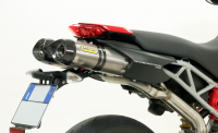 Arrow - Arrow Short Slip-On Exhaust: Ducati Hypermotard 796