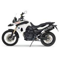 LeoVince - LeoVince LV One Evo Carbon Fiber Slip-On Exhaust: BMW F700GS, F800GS