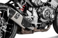 Exhaust - Slip-Ons - Akrapovic - Akrapovic Titanium Slip-On Exhaust: Honda CB1000R Neo Sports Cafe