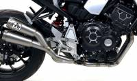 Exhaust - Mid Pipes - Arrow - Arrow Pro Race with Link Pipe Exhaust: Honda CB1000R Neo Sports Cafe