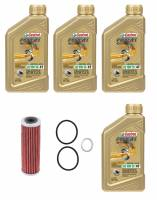 Castrol - Castrol Power 1 Synthetic Oil and Filter 10W-50: Ducati Panigale Series