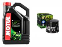 Tools, Stands, Supplies, & Fluids - Fluids - Motul - Motul 5100 Semi-Synthetic 4T Oil Change Kit: Most Ducati