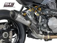 SC Project - SC Project S1 Titanium Exhaust: Ducati Monster 1200/S/R '17+, 821 '18+