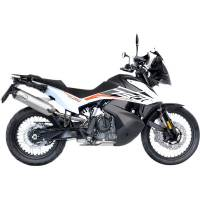 LeoVince - LeoVince One Evo Slip-On Exhaust: KTM 790 Adventure/R