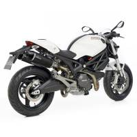 LeoVince - LeoVince LV One EVO Carbon Exhaust: Ducati Monster 696-796-1100/S
