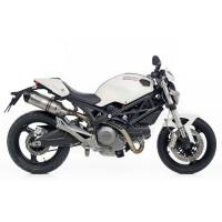 LeoVince - LeoVince One EVO Stainless Exhaust: Ducati Monster 696-796-1100/S