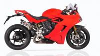 Exhaust - Mid Pipes - QD Exhaust - QD Exhaust Twin Gunshot 3/4 System: Ducati Supersport 939