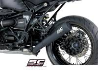 SC Project - SC Project 70's Style Black Conic Exhaust: BMW R nineT