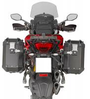 Body - Luggage - GIVI - Givi Outback Series Aluminum Side Case and Mounting: Ducati Multistrada 1260