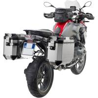 Body - Luggage - GIVI - Givi Trekker Outback Series Aluminum Side Case and Mounting: BMW R1200GS, R1250GS, Adventure '13-'20