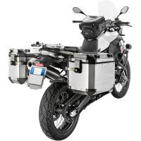 Body - Luggage - GIVI - Givi Trekker Outback Series Aluminum Side Case and Mounting: BMW F800GS/Adventure, F700GS, F650GS
