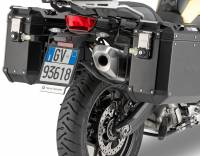 Body - Luggage - GIVI - Givi Trekker Outback Sides Case and Mounting Rack: BMW F850GS, F750GS, Adventure