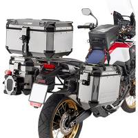Body - Luggage - GIVI - Givi Outback Series Aluminum Side Case and Mounting: Honda Africa Twin CRF1000L '16-'17