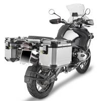 Body - Luggage - GIVI - Givi Trekker Outback Series Aluminum Side Case and Mounting: BMW R1200GS '04-'12, Adventure '05-'13