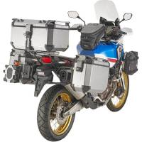 Body - Luggage - GIVI - Givi Outback Series Aluminum Side Case and Mounting: Honda Africa Twin CRF1000L '18-'19