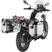Body - Luggage - GIVI - Givi Trekker Outback Sides Case and Mounting Rack: BMW G650GS '11-'16