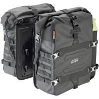 Body - Luggage - GIVI - GIVI Gravel-T Waterproof Saddlebag Set 70 Liter Capacity