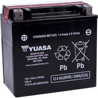 Electrical, Lighting & Gauges - Batteries and Spare Parts - Yuasa  - Yuasa AGM Maintenance Free Battery: BMW R1250GS, R1200GS, F800GS, F700GS, R nineT