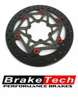 Brake - Rotors - Braketech - BRAKETECH AXIS IRON ROTOR: MV Agusta F4/F4RR, 320mm [Pair]