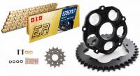 Drive Train - Rear Sprockets - D.I.D - D.I.D ERV7/Superlite Quick Change Lightweight Kit: Ducati Panigale 1199-1299-V4, Streetfighter V4