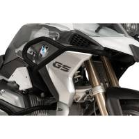 Puig - Puig Upper Black Engine Guards: BMW R1200GS