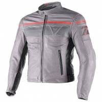 DAINESE Closeout  - DAINESE Blackjack Leather Jacket [Smoke/Magnesium/Black Euro 58]