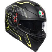 AGV - AGV K5 S Tornado Helmet [Black/Yellow Fluo]
