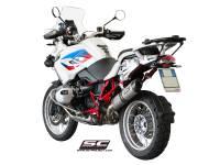 SC Project - SC Project Oval Titanium Exhaust: BMW R1200GS '10-'12
