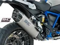 SC Project - SC Project Adventure Titanium Exhaust: BMW R1200GS '13-'18