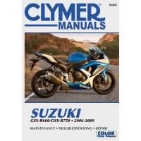 Books & Repair Manuals - Clymer Manuals - Clymer Repair Manual: Suzuki GSX 600-750 '06-'09