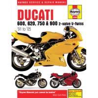 Books & Repair Manuals - Haynes Books - Haynes Service & Repair Manual: Ducati 2V