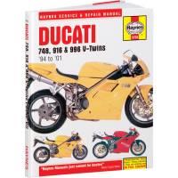 Books & Repair Manuals - Haynes Books - Haynes Service & Repair Manual: Ducati 4V, 748-916-996