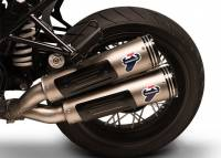 Termignoni - Termignoni Conical Low Mount Dual Stainless Slip-On Exhaust: BMW R nineT '16-'19