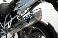Termignoni - Termignoni Oval Stainless Street Slip-On: BMW R1200GS '05-'09