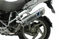 Termignoni - Termignoni Oval Stainless Street Slip-On: BMW R1200GS '10-'12