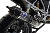Termignoni - Termignoni Relevance Stainless/Carbon Street Slip-On Exhaust: BMW R1200GS '13-16