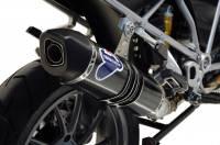 Termignoni - Termignoni Relevance Titanium/Carbon Street Slip-On Exhaust: BMW R1200GS '13-16