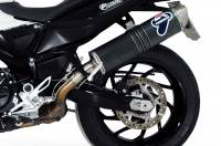 Termignoni - Termignoni Oval Stainless Street Slip-On Exhaust: BMW F800R '10-'12