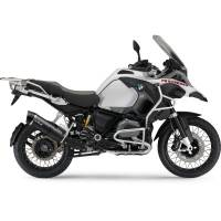 LeoVince - Leo Vince One Evo Carbon Fiber Slip-On Exhaust: BMW R1200GS '13-'16