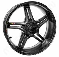 "BST Wheels - BST RAPID TEK 5 SPLIT SPOKE Rear Wheel [6.0""]: Ducati Panigale 899-959"
