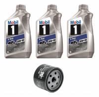 Mobil 1 - Mobil 1 20W-50 Oil Change Kit: BMW F800GS, F700GS