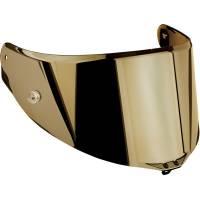Helmets & Accessories - Visors and Hardware - AGV - AGV Pista GPR / Corsa R / Veloce S Race 2 Pinlock Shield Iridium Gold