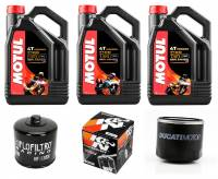 Motul - Motul 7100 Synthetic 4T Oil Change Kit: Most Ducati