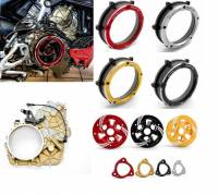 Clutch - Covers - Ducabike - Ducabike Clear Wet Clutch Magnesium Housing, Cover, Pressure Plate & Pressure Plate Ring: Ducati Streetfighter V4/S